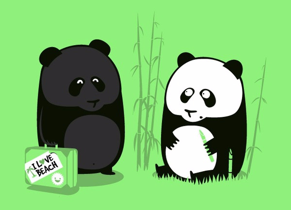 Want this hilarious panda shirt? You can buy it right  here  on Threadless!