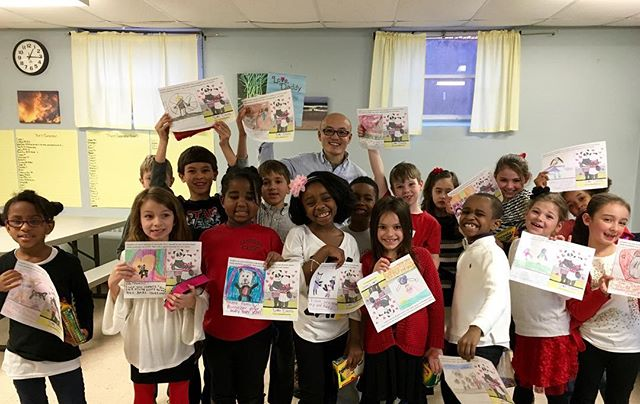 Special thanks to the AMAZING kids and teachers at @lacordaireacademy inviting me to share a little Panda love! I really enjoyed reading @lovedaddythebook and spending some fun activity time with you! #IndieAuthor #KidLit #KidLitChat #BookMarketing #storytelling #pandas