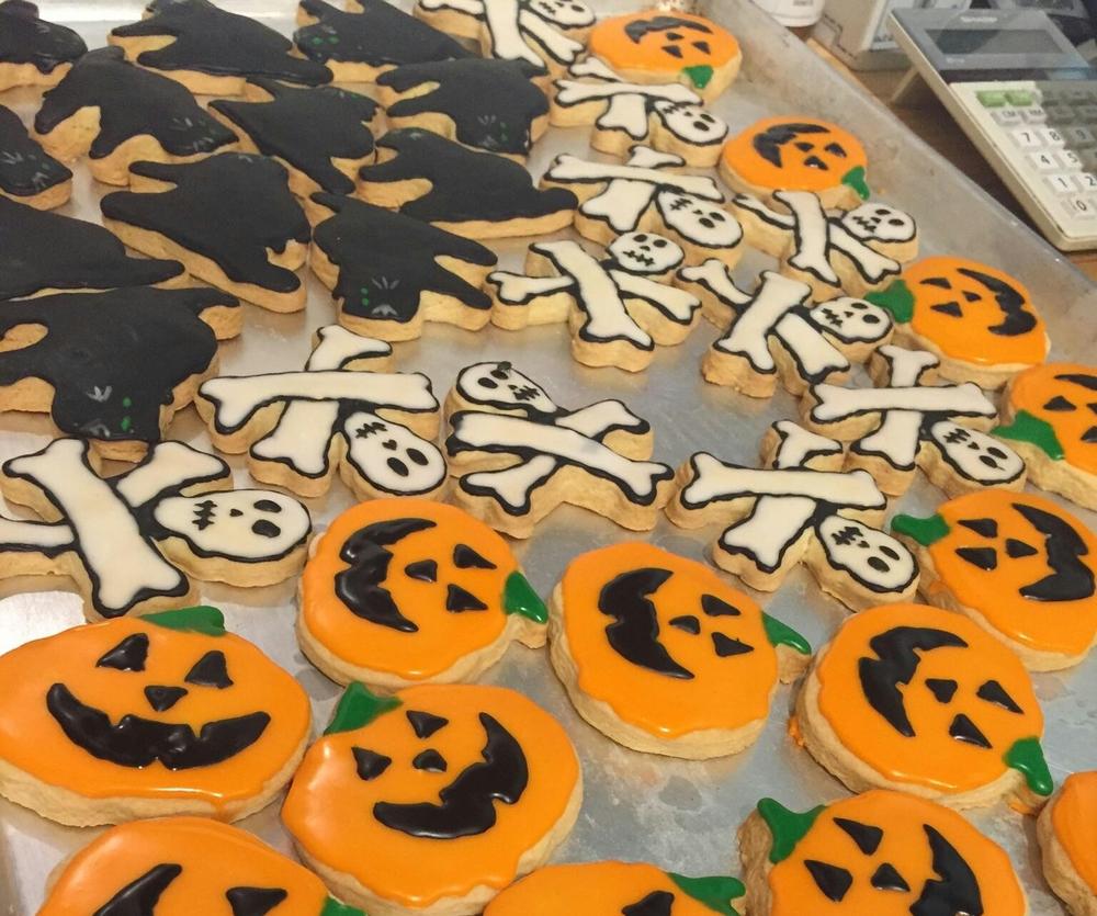 Halloween Sugar Cookies $2/ea