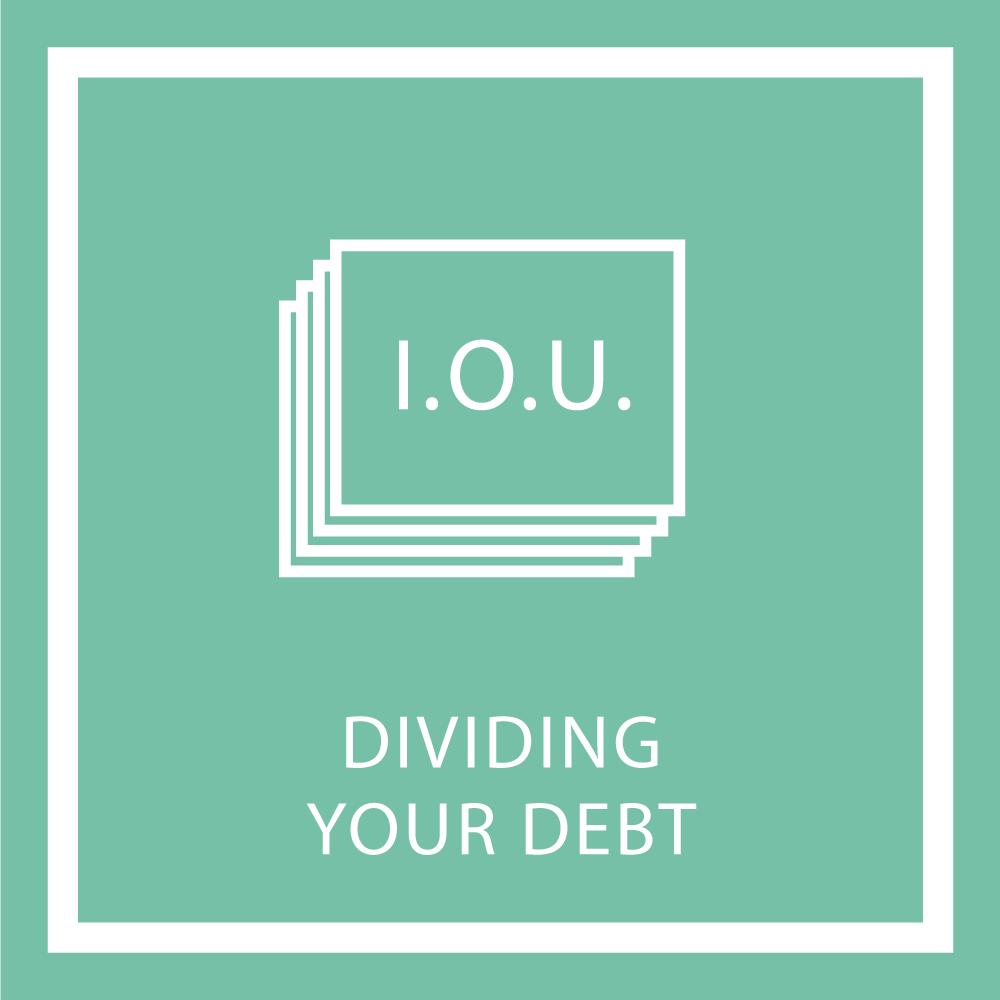 Dividing Your Debt
