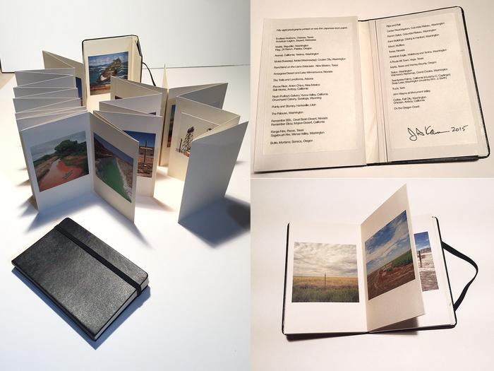 John Kane, Two by Two by Twentynine: A Landscape Portfolio , 2015  Pigment prints  5 x 3 x .5 in.  $325