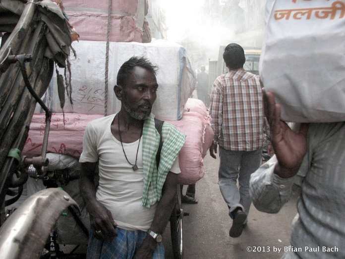 Brian Bach   Moment in Armenian Street, Calcutta , 2013  Photograph