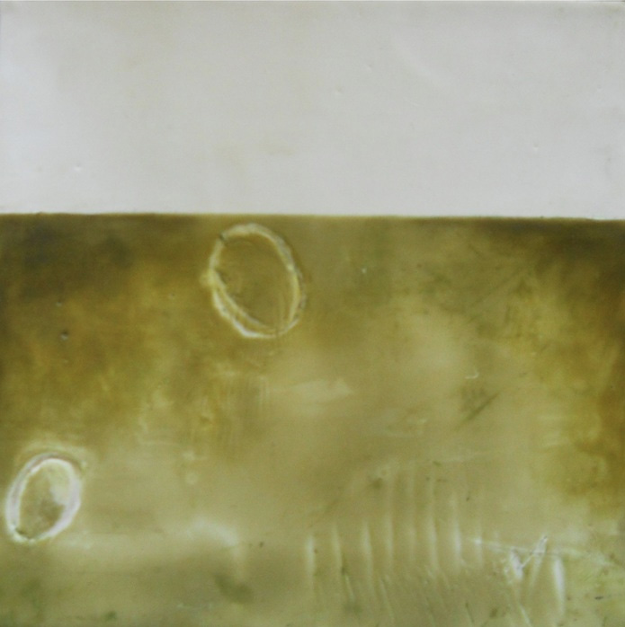 Colleen Monette   Warm Wax , 2013  Encaustic