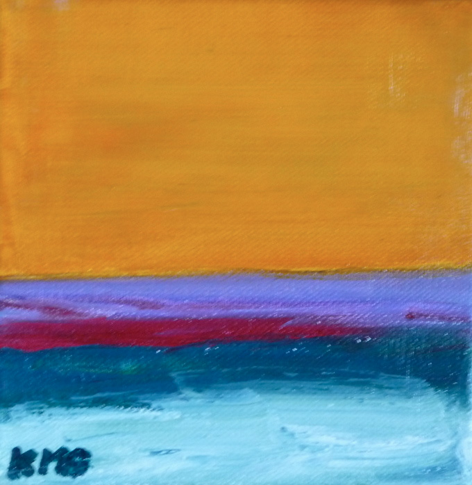 Kimberly Grantier      Oceanview , 2013     Acrylic on canvas