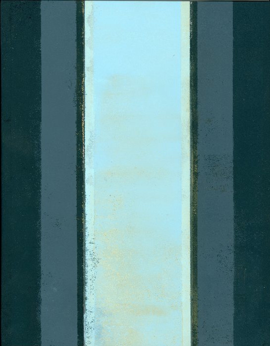 Sandra Westford      Doorway 1 , 2013    Acrylic on paper mounted on panel