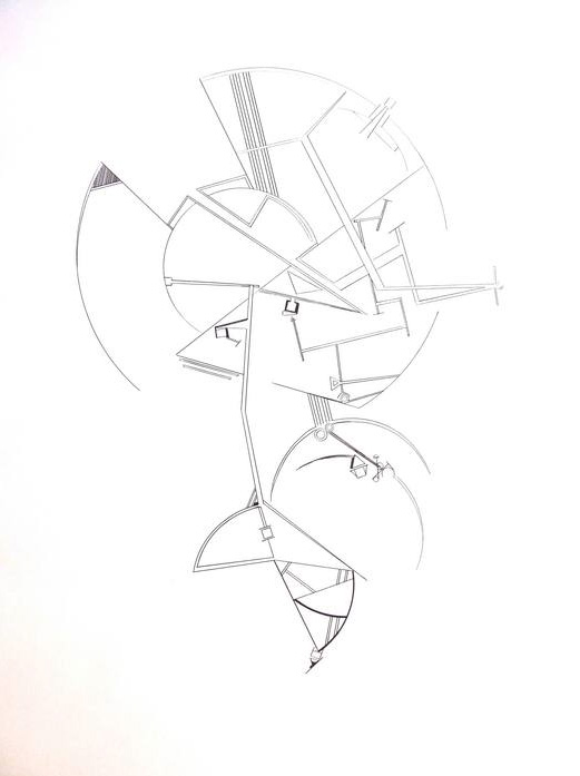 Seth McFarland      Balance Aspect No .   2  , 2011     Pen and ink