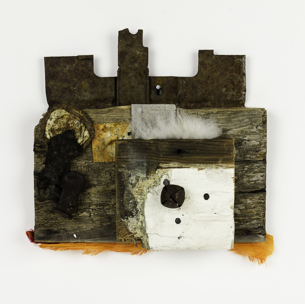 Janice Fournier   Crown 2 , 2009  Mixed media, found materials