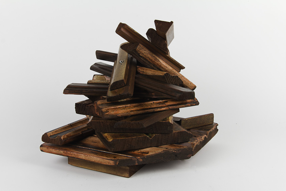 Michael Harrison   Relic #10 , 2011  Wood (recycled building material)