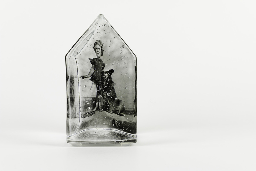 Theresa Batty   How the West Was Won , 2011  Photo-sensitized cast glass