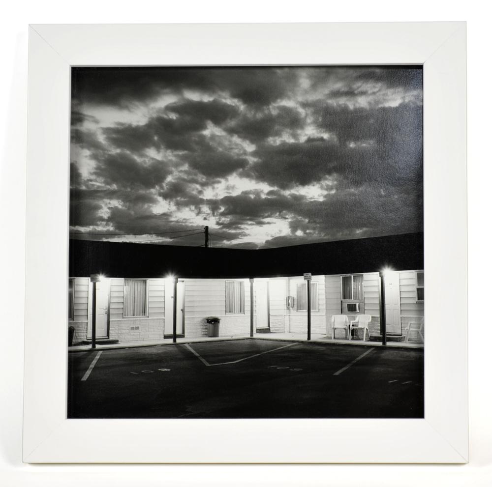 Carlos Rodriguez     Motel, Moses Lake WA , 2004  Photograph, silver gelatin print