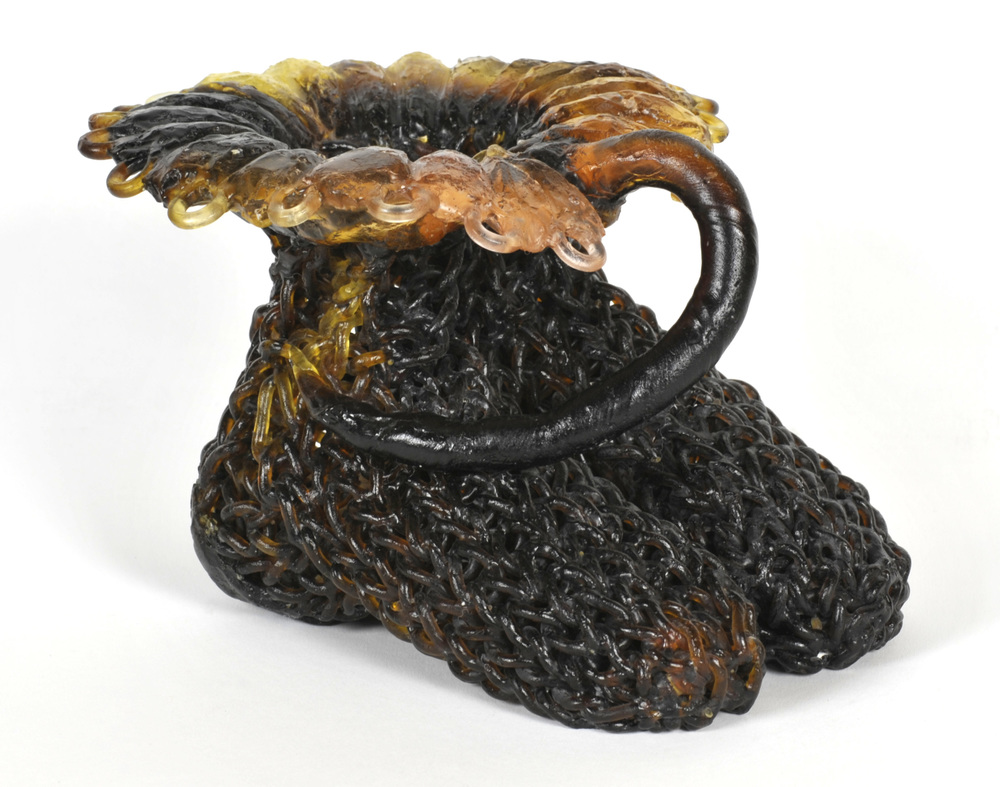 Carol Milne     Flora and Fauna , 2011  Kiln cast lead crystal