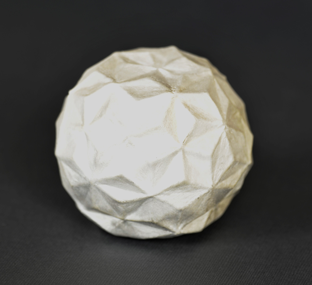 Julia Heineccius     Waning Gibbous , 2012  Fine silver