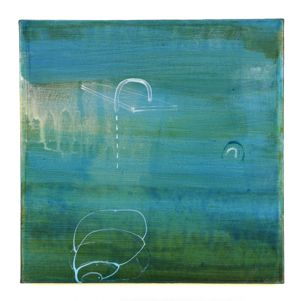 Lee Withington   Morning Glory Platform , 2012  Acrylic and acrylic ink