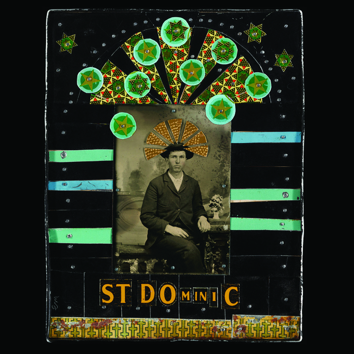 Nia Michaels      St. Dominic, Patron Saint of Astronomers , 2013    Tin and tintype photos