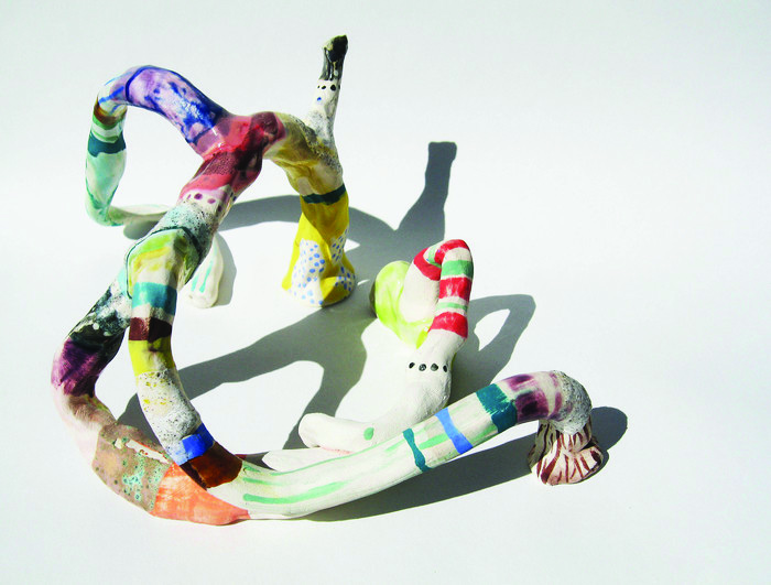 Liz Tran      Creature One , 2011     Glazed ceramic