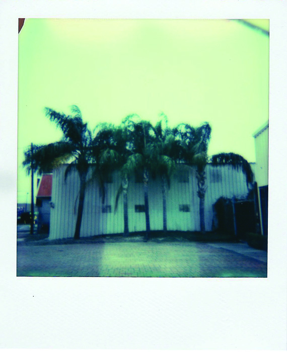 Elena Ricci      Wrong Turn , 2013     Color Polaroid