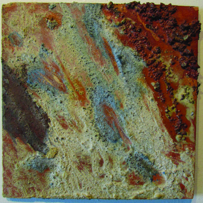 Susan Christian      Desert 2 , 2007     Concrete on panel