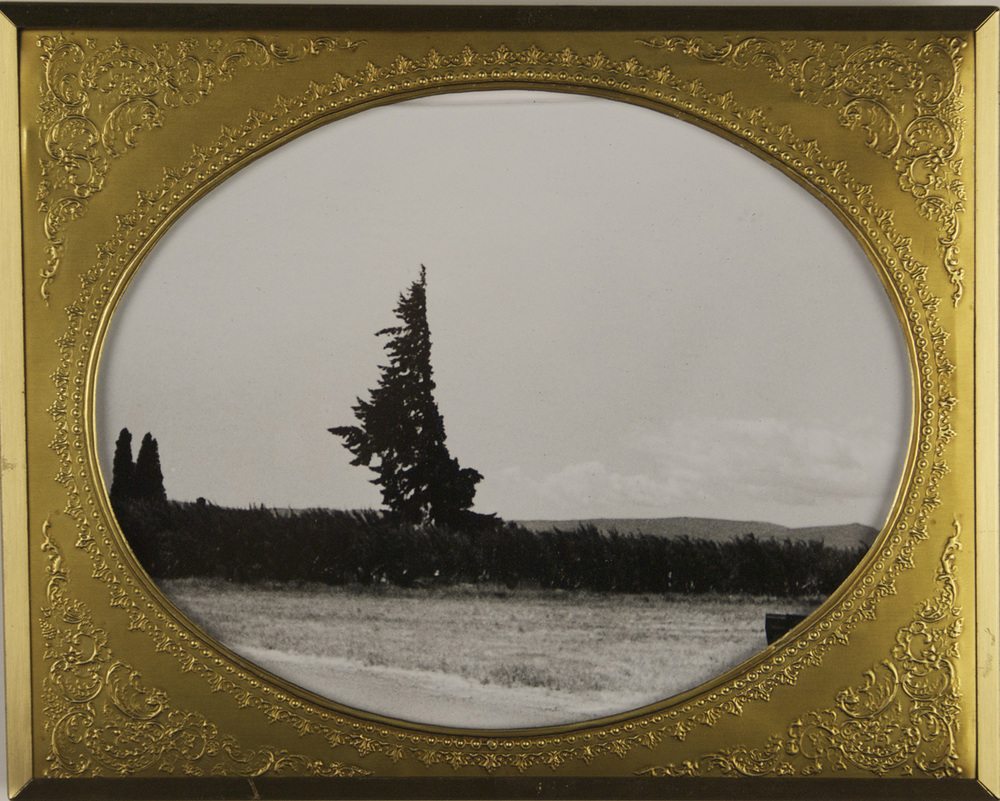 Carey Denniston   Untitles (N Tieton Rd),  2010  Silver gelatin print and found frame
