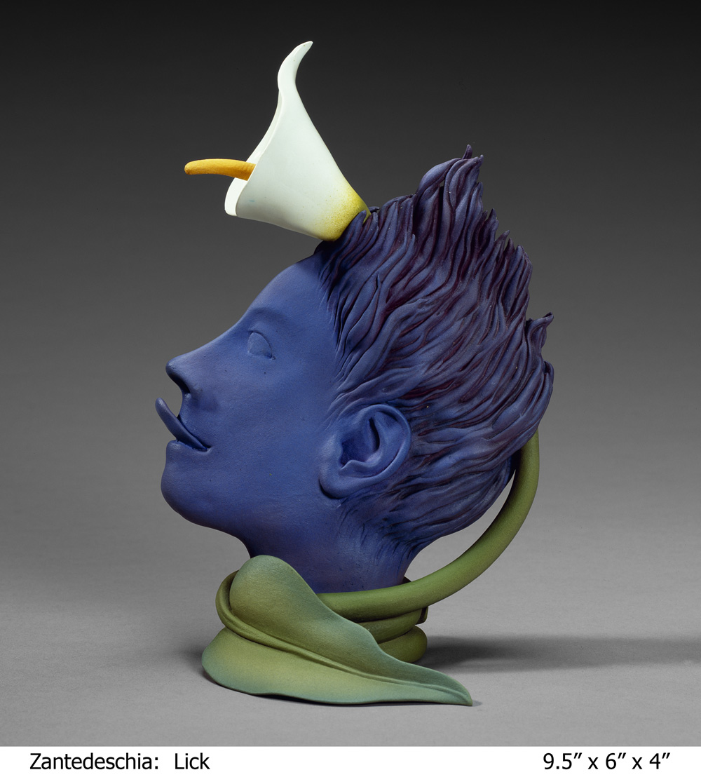 Margaret Ford   Lick,  2010  Ceramic