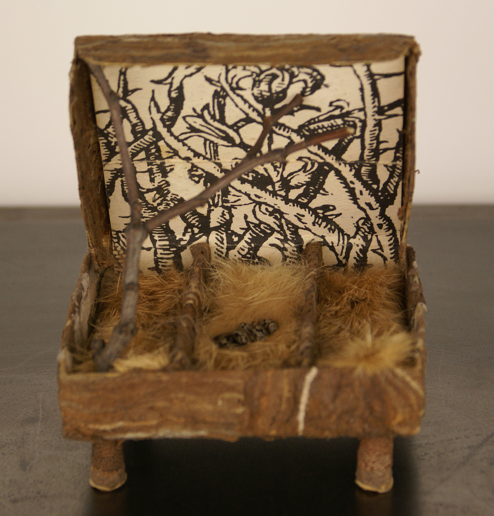Janice Fournier   Untitled,  2008  Mixed media, found materials  Collection of Doug and Laurie Kanyer
