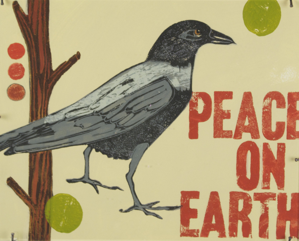 Meredith MacLeod   Peace on Earth , 2009  Mixed media