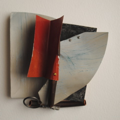 Terry Mulkey   Constrcuction #11 , 2010  Copper, aluminum, and found objects