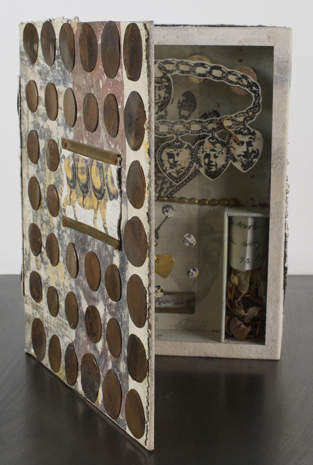 Shawn Ferris   Cupid's Arsenal- Book Box , 2009  Mixed media