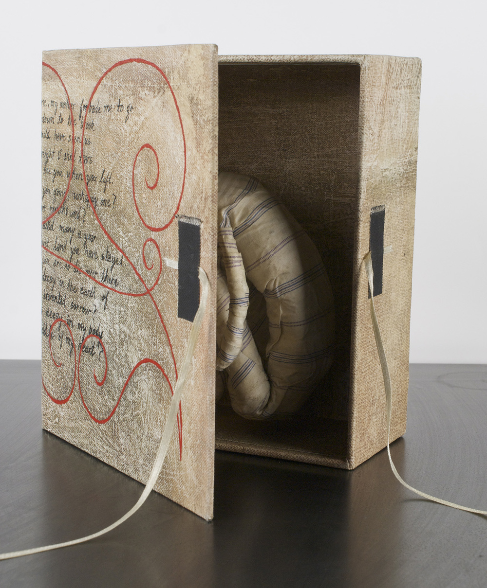 Shawn Ferris   Empathy-Book box , 2009  Mixed media