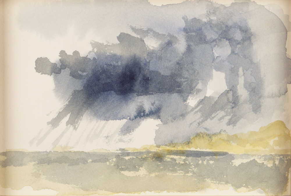 Timothy James Standring   Turner in Yachats Oregon IV , 2010  Watercolor on paper
