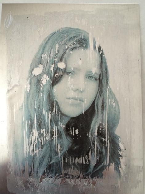 Melanie Gillis, K #2 , 2016.  photograph on aluminum  14 x 11 in.  $175