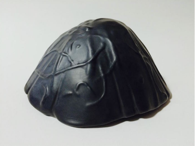 Douglas Hein, Sacred Fire Mesa , 2015.  ceramic  3 x 6.25 x 6 in.  $180