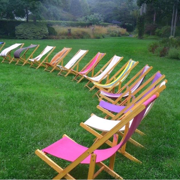 Barbara Kantz, Lawn Chairs , 2014.  digital photo  10 x 10 in.  $450