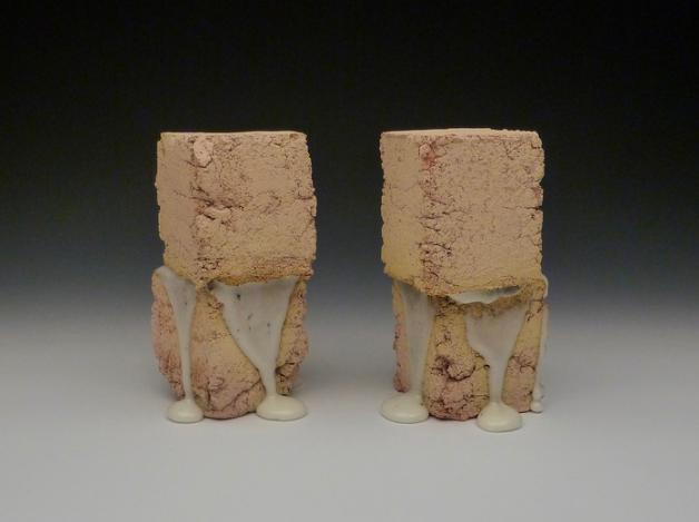 Drew Liedtke, Biscuits and Gravy , 2016.  ceramic  10 x 7 x 5 in.  $150