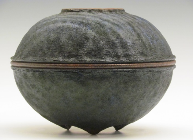 Pat & Karen Miller, Ceramique , 2016.  wood, mango  6 x 7 x 7 in.  $300