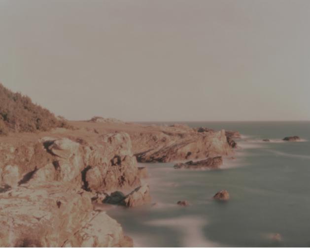 Janet Neuhauser, Salt Point, Northern California , 2015.  pinhole photograph  4 x 5 in.  $200