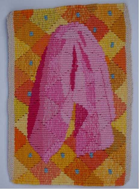 Liz Pulos, Towel , 2016.  cotton  8.5 x 6 in.  $250