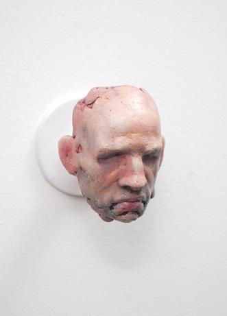 "Andrew Ackerman  ""Empty Rooms: Untitled #1,"" 2017  aqua resin, oil paint, steel  Callander, Ontario  3.5""x3""x4""  $175"