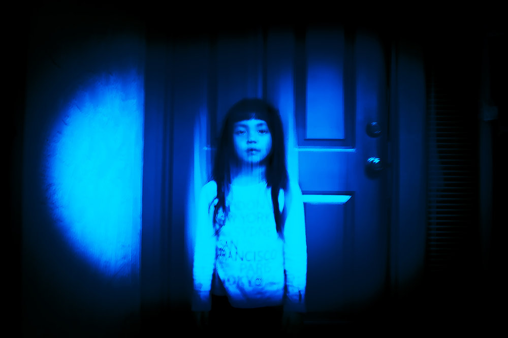 """Norman Aragones  """"Distorted Generation,"""" 2015  metallic  San Jose, CA  17.56""""x21.63""""x.70""""  $120"""