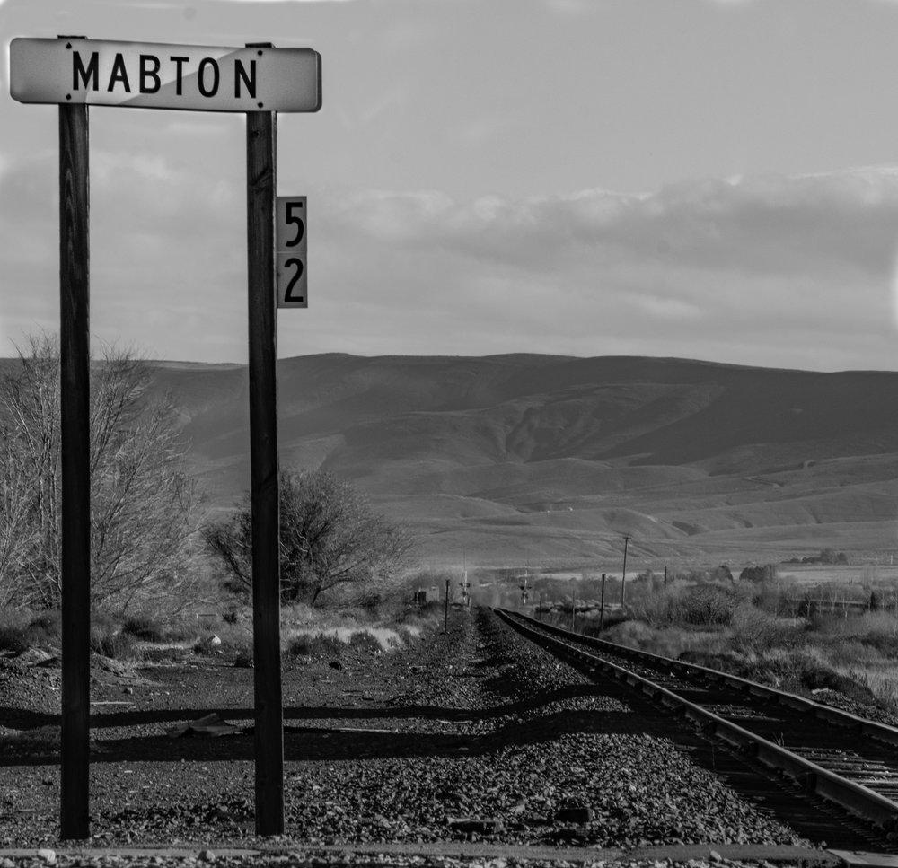 "Gary Bailey  ""Mabton,"" 2016  black and white photograph  Yakima, WA  10""x10""x0""  $175"