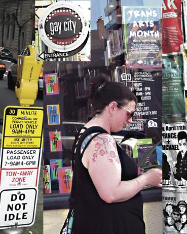 "Leila Novak Dorne  ""Gay City, Seattle,"" 2016  photograph  Rye Brook, NY  10""x8""x1""  $250"