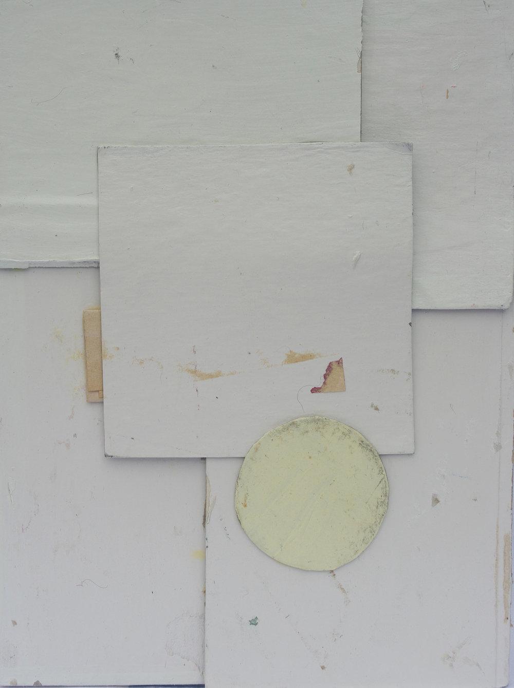 """Jesse Proebstel  """"Butterflies Who Could No Longer Fly...,"""" 2017  cardboard, latex paint, hand-typed love letter (sealed)  Seattle, WA  8""""x6""""x2""""  $65"""