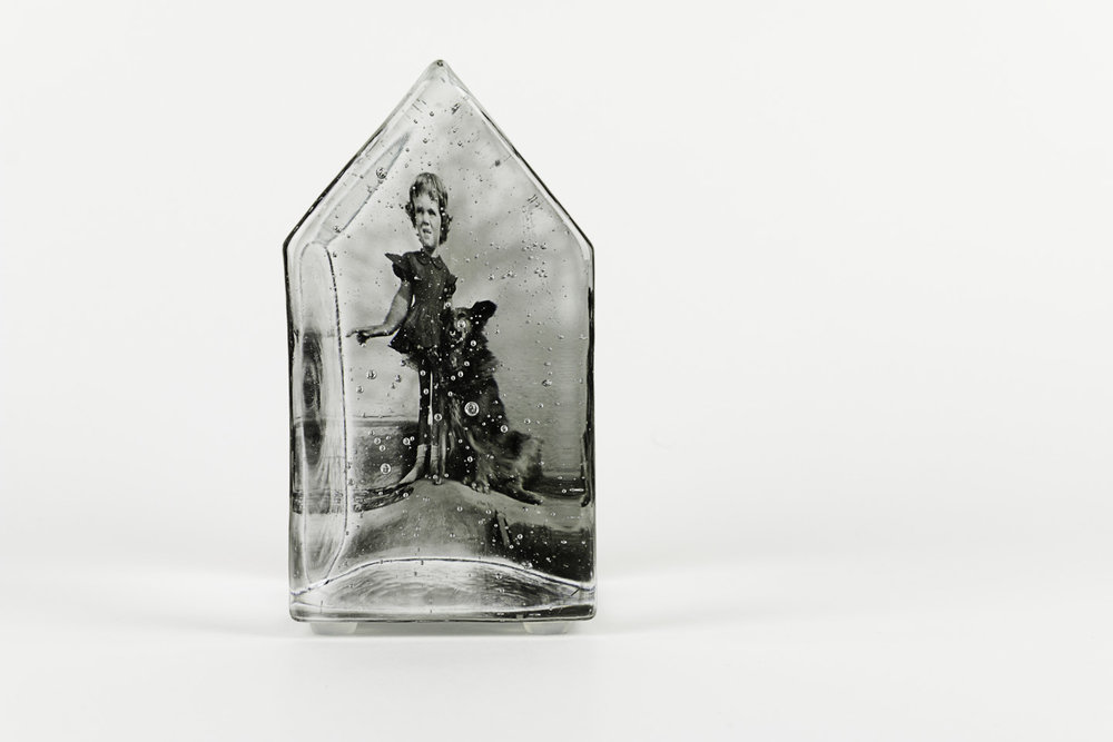 Teresa Batty  How the West Was Won, 2011  Photo-sensitized cast glass