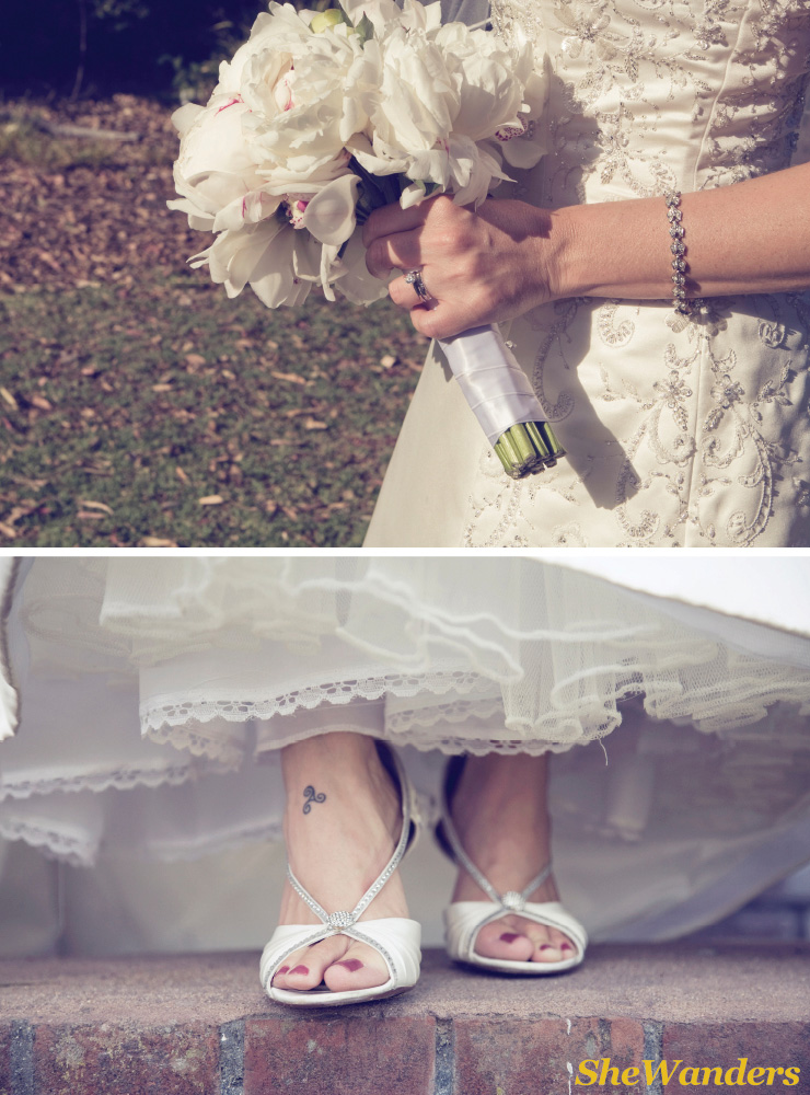 flowers, feet, San Diego Wedding Photography, Shewanders wedding photography