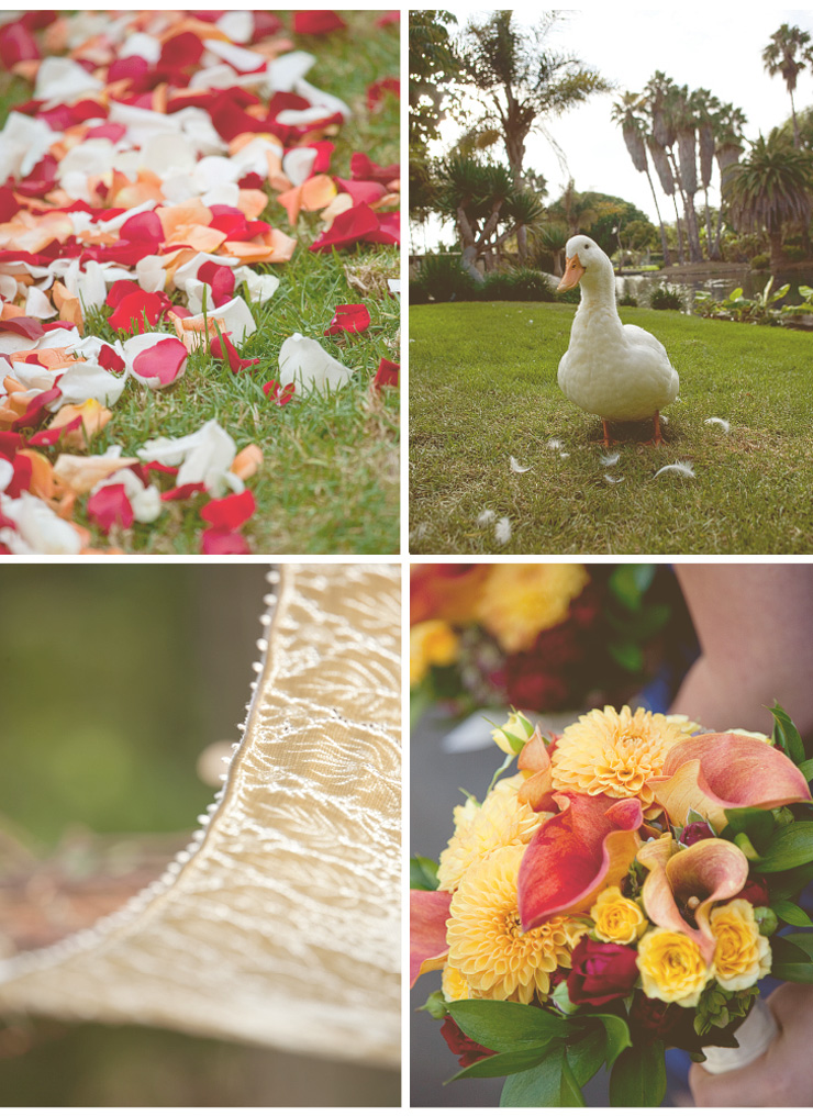 san diego wedding photography, swannsoirees, paradise point ceremony, hoopa, duck