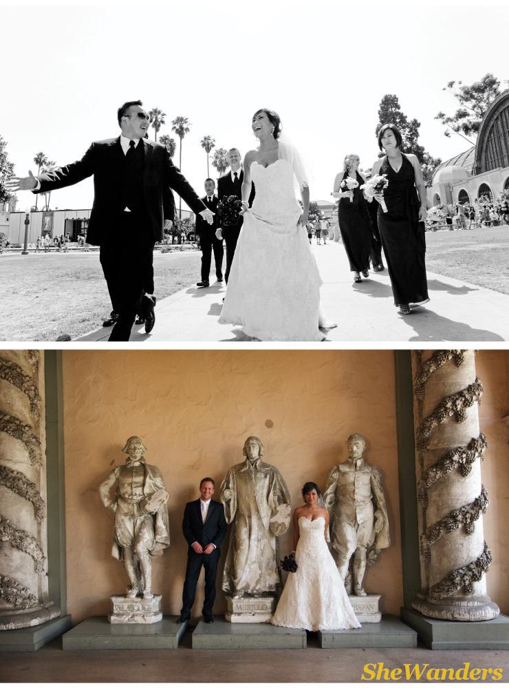 beautiful korean bride, san diego wedding photography, balboa park wedding photography, the prado