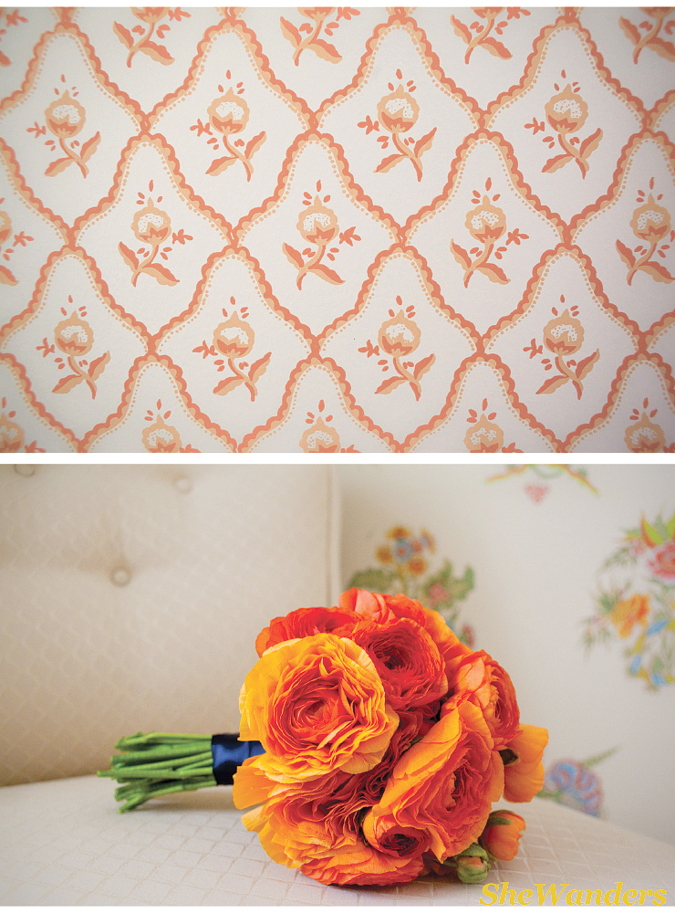 la jolla wedding photography, shewanders wedding photography, darlington house, orange bouquet