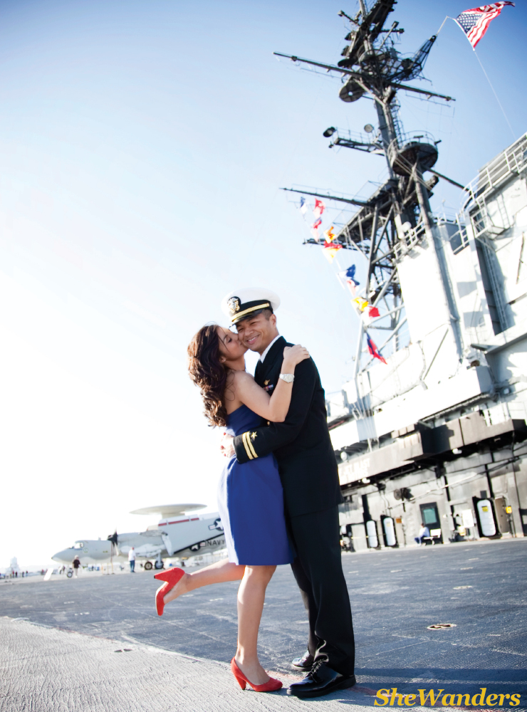 shewanders photography, san diego wedding photography, great engagement outfits, military