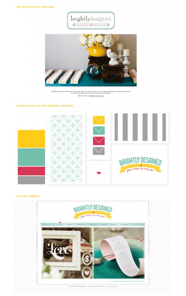 Brightly Designed new website, Shewanders Photography, Brightly Designed,