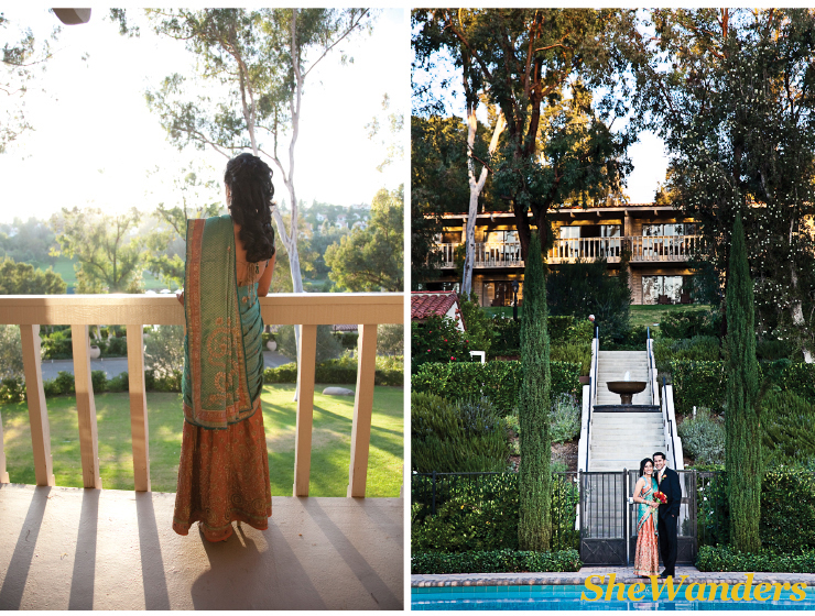 blue indian wedding dress, rancho bernardo inn and spa, san diego wedding photography, san diego indian wedding photography, shewanders photography