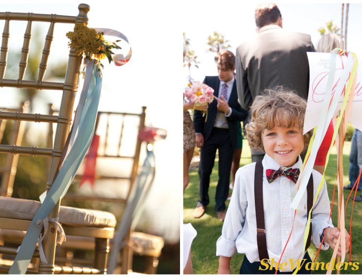ceremony decor, cute ring bearer, san diego wedding photography, exquisite weddings, la jolla wedding photography